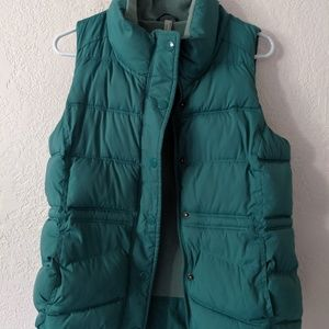 Old Navy fleece lined vest